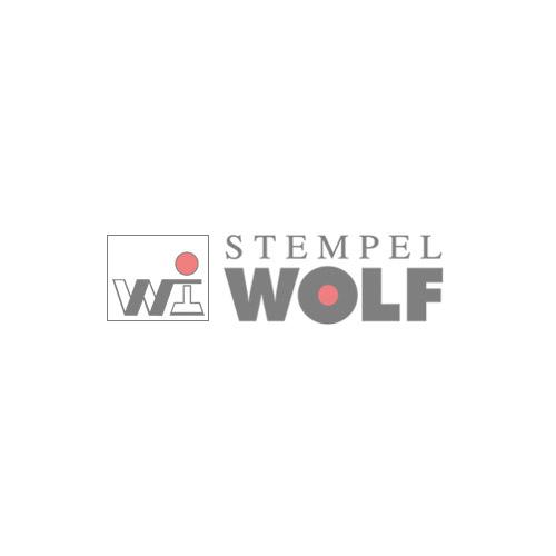Holzstempel - 80 mm - 7 Zeilen