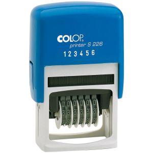 Colop Printer S 226 Ziffernstempel 6-stellig