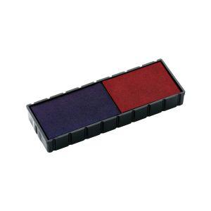 Stempelkissen E/12/2 blau-rot für Colop Mini-Dater S 120/WD/S 120/P