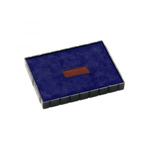 Stempelkissen E/54/2 blau-rot für Colop Printer 54 Dater