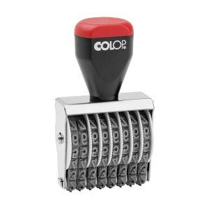 Colop Ziffernbänderstempel 05008, 8-stellig mit 5 mm Ziffernhöhe