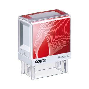COLOP Printer 10 rot-weiß