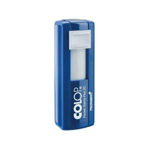 Colop Pocket Stamp Plus 20 Microban Taschenstempel mit 4 Zeilen
