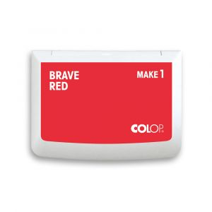Colop Make 1 Stempelkissen - brave red