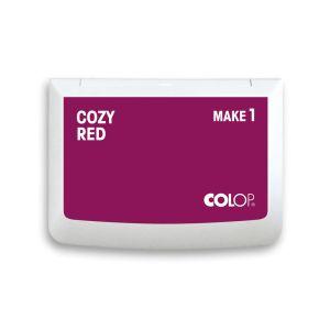 Colop Stempelkissen Make 1 mit Farbe cozy red