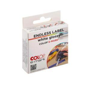 Colop e-mark Etiketten weiß glänzend