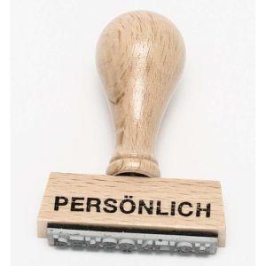 "Stempel ""Persönlich"""
