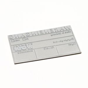 Textplate for a Trodat Printy 4931