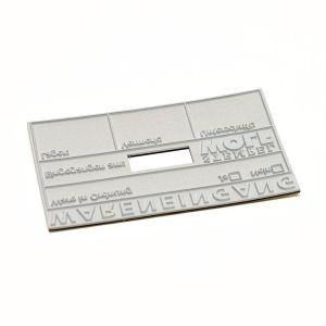 Textplatte für Trodat Professional 54120 Dater