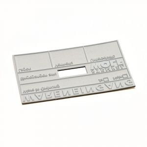 Textplate for a COLOP Expert 3960 double Dater
