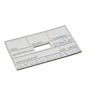 Stempelplatte für Colop Classic 2660 Dater