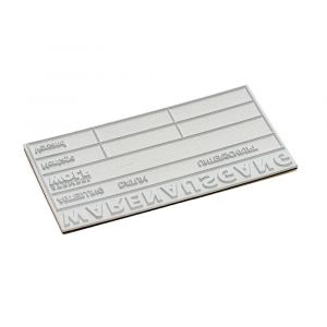 Textplate for a Trodat Printy 4927
