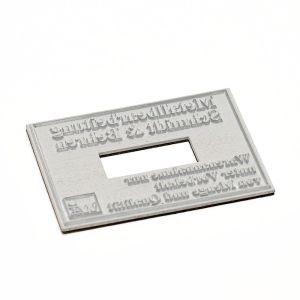 Textplatte für Trodat Professional 5474 Dater