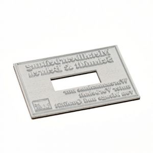 Textplatte für Trodat Professional 5466/PL Doppel-Dater