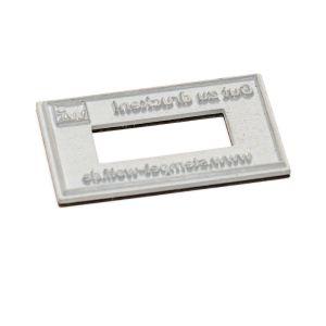 Textplatte für Trodat Professional 55510/PL Ziffernstempel