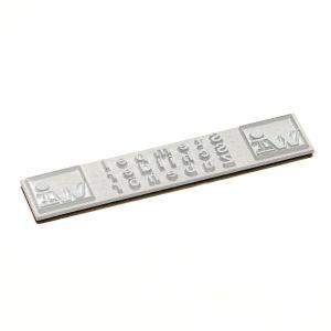Textplatte für Heri Stempelkugelschreiber und Stempelfüller