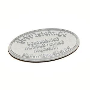 Stempelplatte für Colop Printer oval 55 Dater