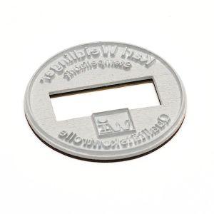 Textplatte für Trodat Professional 54045 Dater rund (Ø 45 mm)