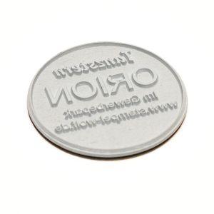 Textplatte für Trodat Professional 52045 rund (Ø 45 mm)