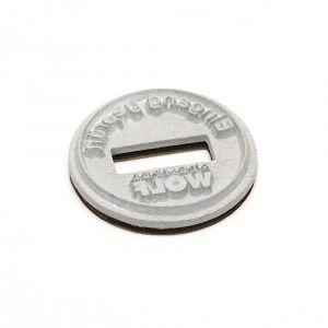 Textplatte für Trodat Professional 54045 Dater rund (Ø 40 mm)