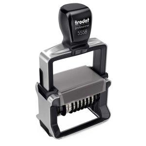 Trodat Professional 5558 Ziffernstempel mit individueller Stempelplatte 8-stellig