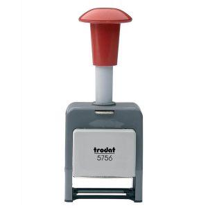 Trodat 5756/P Paginierstempel 6-stellig mit Kunststoffgehäuse