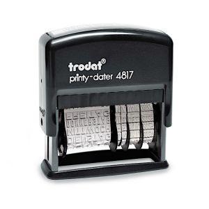 Trodat Printy 4817/B mit Datum und Wochentagen